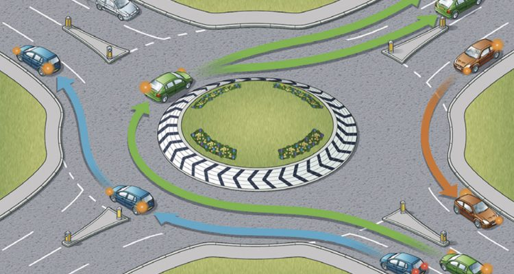 Roundabout in the Highway Code