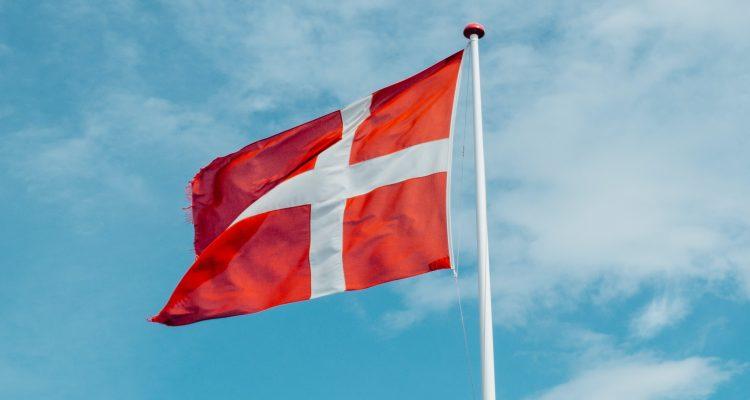 Denmark flag in daytime